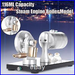116ML Mini Single Cylinder Steam Engine Boiler Motor Model Educational Toy