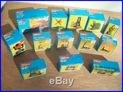 12 New Unused Wilesco Steam Engine Accessories Toys With Box