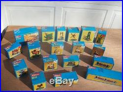 16 New Unused Wilesco Steam Engine Accessories Toys With Box