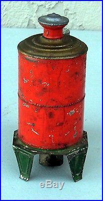 1880's Weeden Favorite Steam Engine Tin Base #BT16 VERY RARE