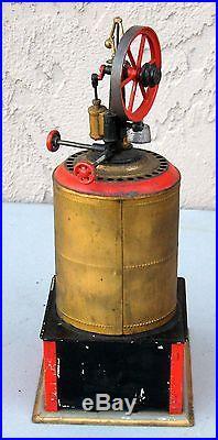 1890's Weeden Steam Engine No 4 Square Tin Base with Burner #BT15 RARE