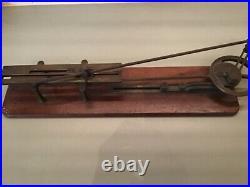 1890s Whittells patent Live steam engine & locomotive valve demonstrator RARE