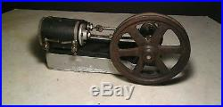 1900 Toy Steam Engine Large Fly Wheel