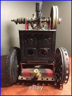 1920-1930 Marklin 402 Antique Convertible Steam Engine Meccano Powerplant Rare