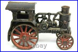 1920's AVERY Cast Iron Toy Steam Engine Tractor 100% Original UNTOUCHED