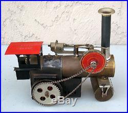 1920's Weeden Train Steam Engine No 644 Brass Boiler Good Condition #BT30 RARE