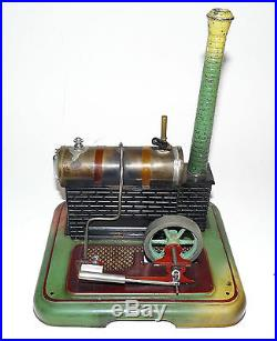 1920s 1930s MARKLIN Model Toy Steam Engine Plant 4094/4 With Box & Paperwork