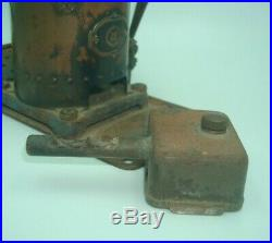 1920s EARLY BRASS MECCANO STEAM ENGINE with BURNER (NOT TESTED)