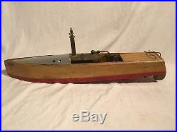 1920s Live Steam Engine English Boat Swallow Brunel I. A
