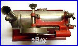 1921 Working Toy Steam Engine Electric Heating Empire Metal Ware Corp Nice