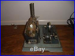 1930's ANTIQUE GERMAN MARKLIN HORIZONTAL LIVE STEAM ENGINE