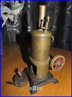 1940s Vertical Donkey Engine Toy Oscillating Steam Engine Made In Australia