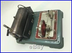 1950s Fleischmann Steam Engine Model Tin Toy Western Germany untested