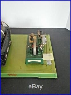 1950s Vintage FLEISCHMANN LIVE STEAM ENGINE Electric Toy