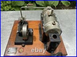 1960s Jensen Mfg Co Toy Model 25 Miniature Steam Engine Industrial