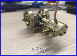 1PC Mini Steam Engine Tractor Model Toy DIY Micro Power Generator Engine Motor