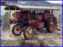 1/24 scale Midsummer models Earl Beatty Showmans steam traction engine. MSM003