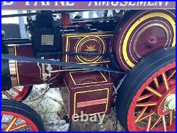 1/24 scale Midsummer models White Rose of York Showmans steam traction engine