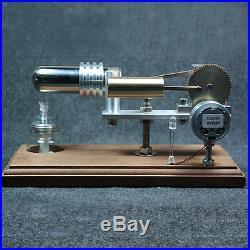 2015 New Hot Air Stirling Engine Model Power Generator Kit Kids Educational Toys