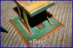 #2 Vintage Toy Steam Engine Weeden Unknown Maker Germany Table Saw More