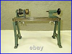 4 French G Pericaud vintage steam engine accessories lathe, mixer, sifter, vise