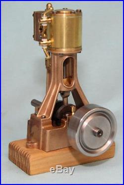 5002M Echuca Single Cylinder Vertical Steam Engine Non Reversing Marine F/W