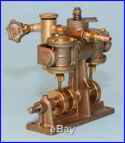 5009 Clyde Twin Cylinder Oscillating Model Steam Engine Assembled RC control