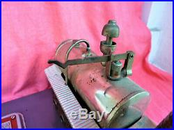 ANCIENNE MACHINE VAPEUR MADE GERMANY OLD STEAM ENGINE TOY 1950 altes Spielzeug