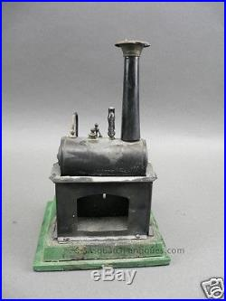 ANTIQUE ERNST PLANK STEAM ENGINE GERMAN TIN TOY SEE MORE TOYS THIS WEEK