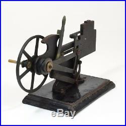 ANTIQUE LATE 19TH C STOELTING STEAM ENGINE DEMONSTRATOR cast iron cut-away