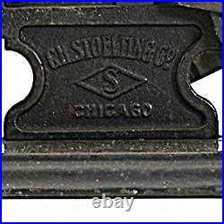 ANTIQUE LATE 19TH C STOELTING STEAM ENGINE DEMONSTRATOR cast iron cut-away