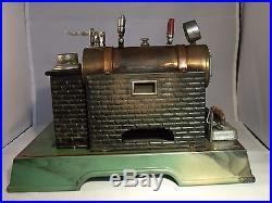 ANTIQUE MARKLIN STEAM ENGINE AND DYNAMO