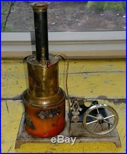 Antique Toy Steam Engine Weeden #123 Hit Miss Engine Steam Whistle Engine