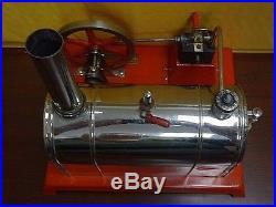 ANTIQUE VINTAGE WEEDEN TOY STEAM ENGINE With Accessories