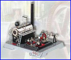 AU SPECIAL Wilesco D22 TOY STEAM ENGINE SEE VIDEO NEW FREE SHIPPING