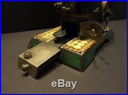 All Original Marklin Vertical Live Steam Engine #4112 Patent Dampf 1909