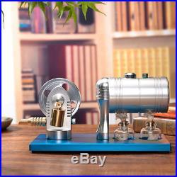 All-metal Dampfmotor-Modell Physik Lernspielzeug Steam Engine Stirling Steamer