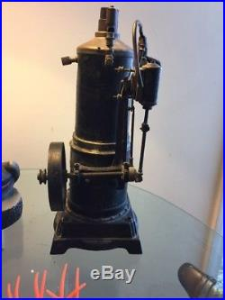 Antique 1800's Doll & Company DC Co German Vertical Toy Steam Engine # 354