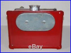 Antique 1920's Empire 45 Toy Model Steam Engine Vtg Cast Iron Chicago Apparatus