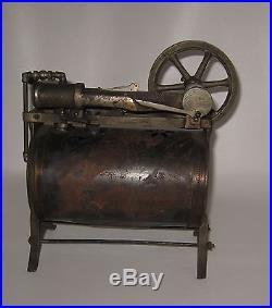 Antique 1920's Weeden Steam Engine No 34 Brass Boiler Snowflake Star Design BP53