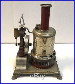 Antique 19th Century Toy Weeden Live Steam Engine & Boiler