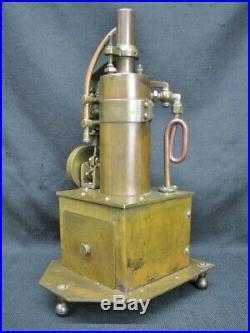 Antique Brass Oscillating Cylinder Steam Engine Steampunk Industrial Design