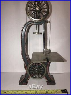Antique Cast Iron Bing Marklin Band Saw Live Steam Engine Accessory Prewar Rare