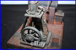 Antique DC Miniature Model Steam Engine Germany Cast Iron & Copper