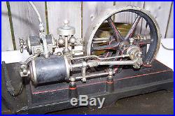 Antique DC steam engine made in Germany parts or restoration