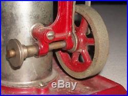 Antique Empire Metalware Steam Engine. Pat. Jan 25, 1921, E2 On Bottom Plate