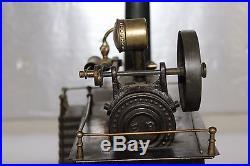 Antique Ernst Plank Metal Live Steam Engine Toy Machine