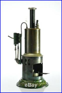 Antique German Ernst Plank Vertical Steam Engine Early Model approx. 1915