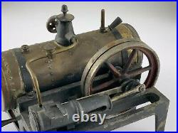 Antique German Steam Engine Bing 70/120 Model Brass Cast Iron Untested U938