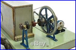 Antique German Steyer Electric Steam Engine Model approx. 1950 East GERMANY